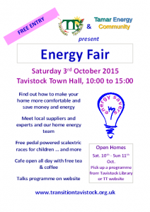 Energy Fair 2015 flyer