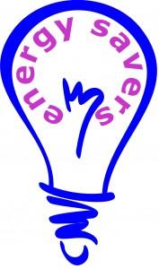 Energy Savers logo single blue