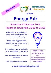 Energy Fair 2015 flyer